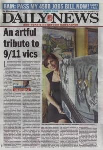 "Richardson, Clem. ""An Artful Tribute to 9-11 Vics."" New York Daily News, Sep. 2011"