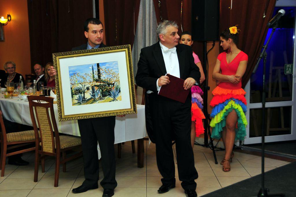 Kłodzko's Mayor Szpytma with his team led the auction